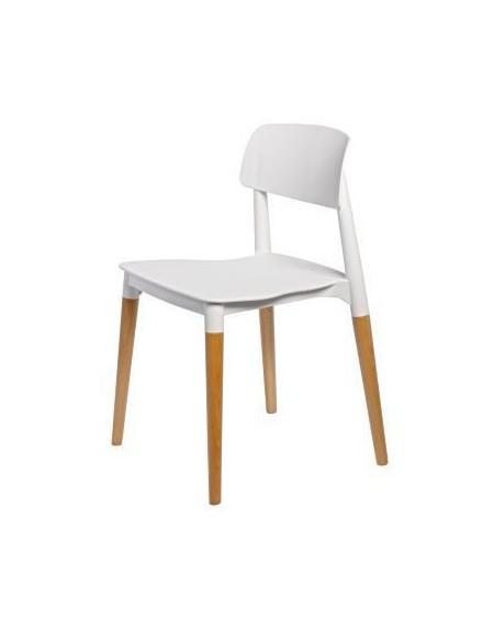 Krzesło Simple white