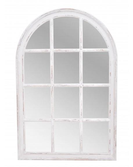 Lustro okno białe małe