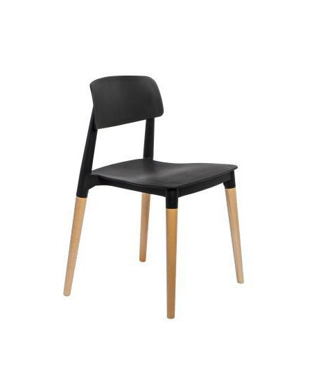 Krzesło Simple black
