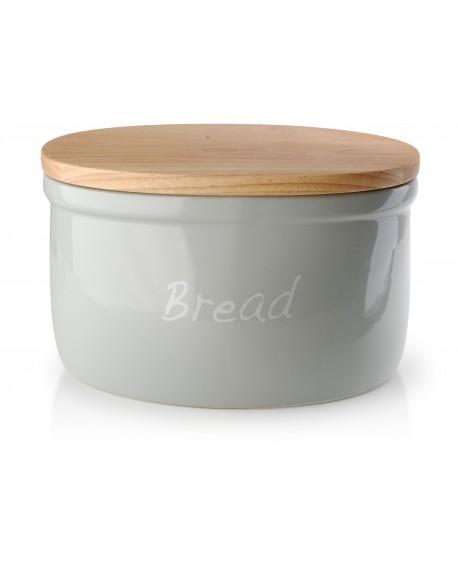 Chlebak ceramiczny Bread szary