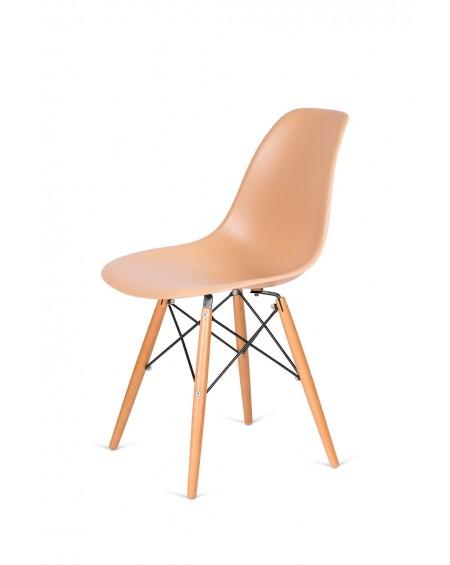 Krzesło Comet ciepły kremowy
