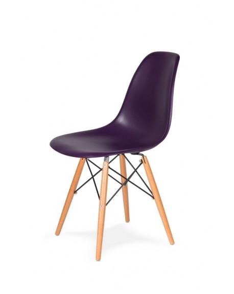 Krzesło Comet fioletowa purpura