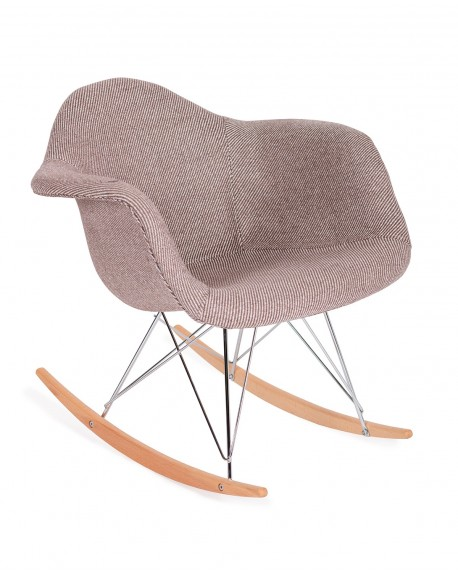 Krzesło Rubio Plush zebra beżowa