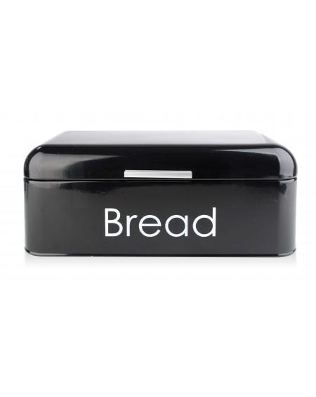 Chlebak metalowy czarny Bread