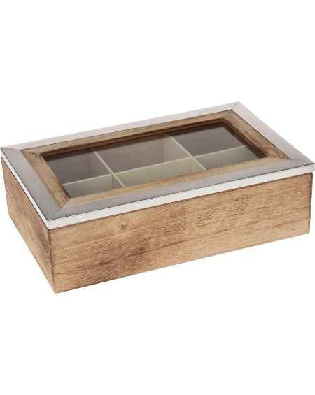 Pudełko na herbatę NATURAL