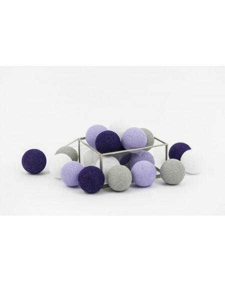 Cotton Balls Purple Fog