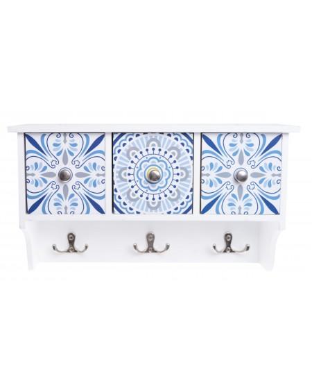 Półka wisząca Mozaika 3 szuflady