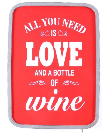 Lampa LED Love and Wine