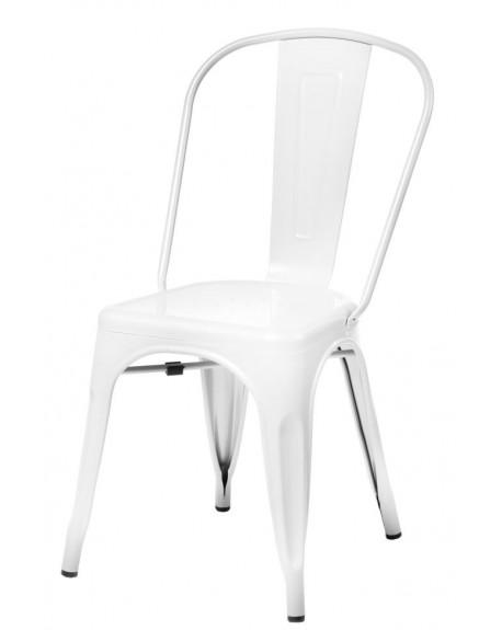Krzesło Metalove white