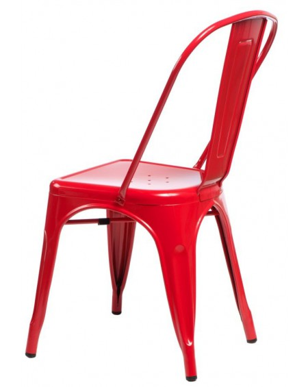 Krzesło Metalove red