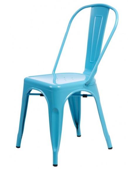 Krzesło Metalove blue