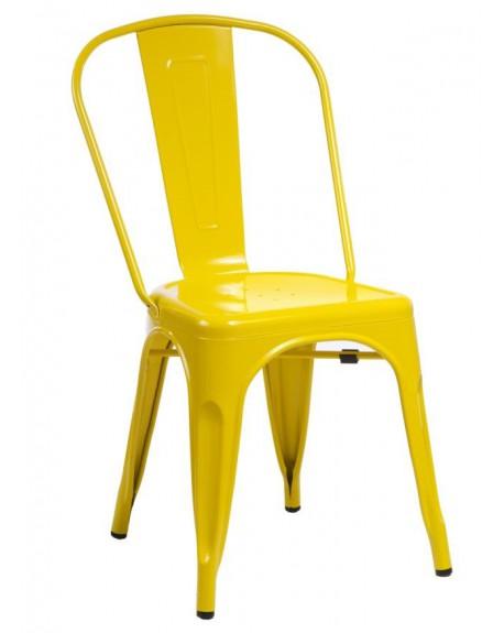 Krzesło Metalove yellow