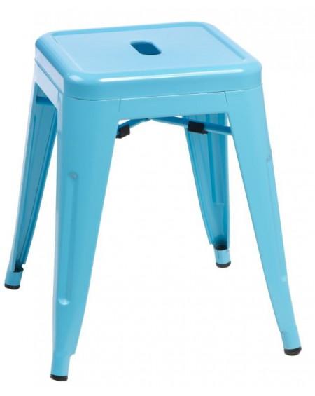 Stołek Metalove blue