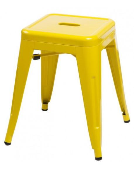 Stołek Metalove yellow
