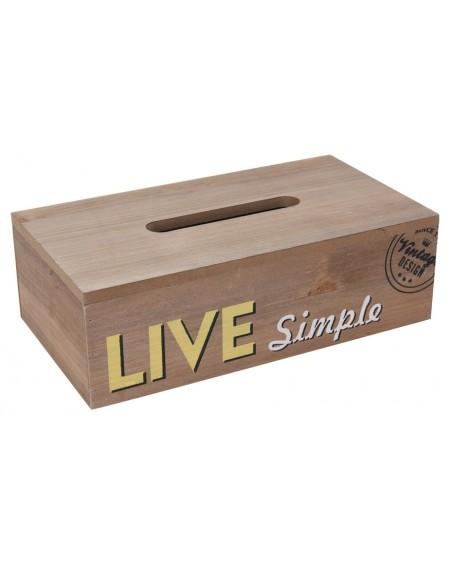 Pudełko na chusteczki Live Simple