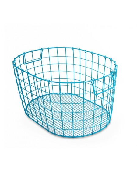 Koszyk metalowy z uchwytami