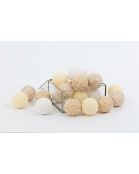 Cotton Balls X-MAS Gold