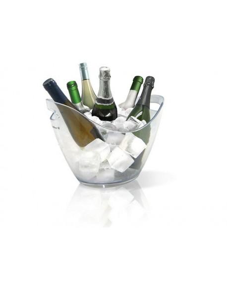 Akrylowy Przeźroczysty Kosz Na Sześć Butelek Wina