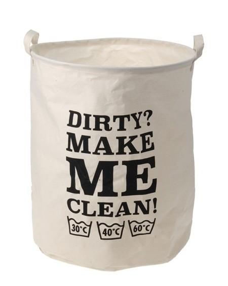 Worek torba na pranie z napisami