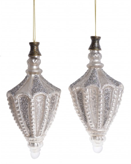 Bombka szklana 2 szt. Oriental
