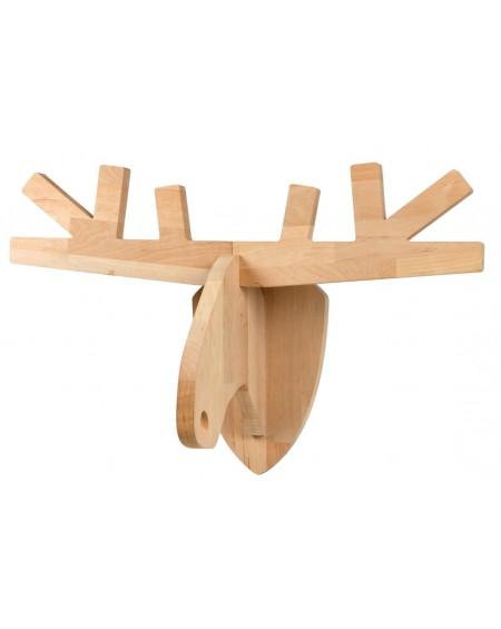 Głowa Łosia drewniana