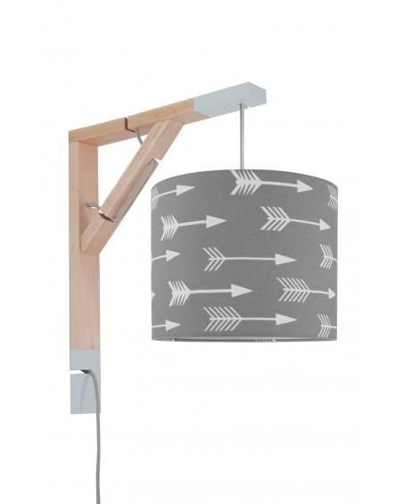 Lampa Simple strzałki na szarym