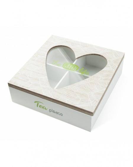 Pudełko na herbatę The green life