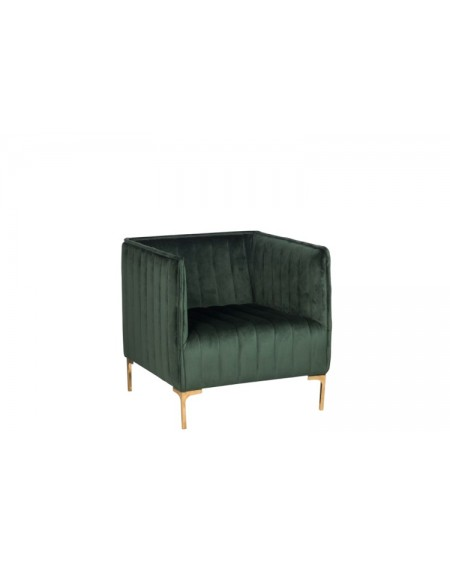 Fotel Velvet Green