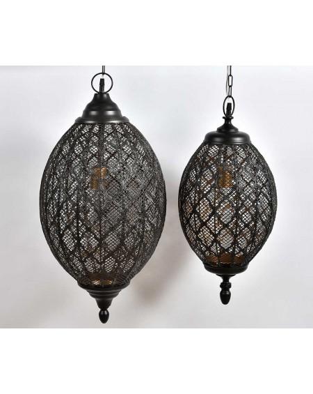 Lampa wisząca Orient czarna S