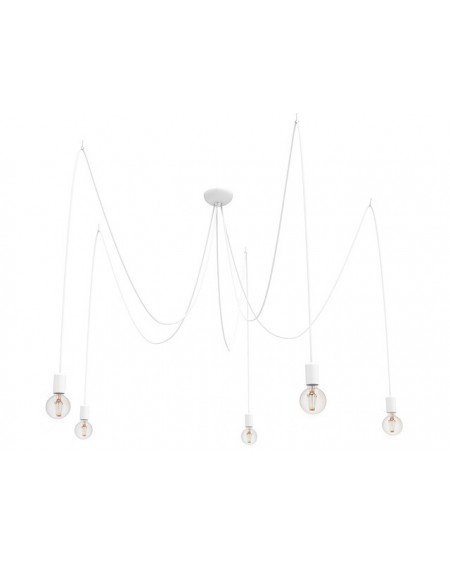 Lampa wisząca SPIN V white