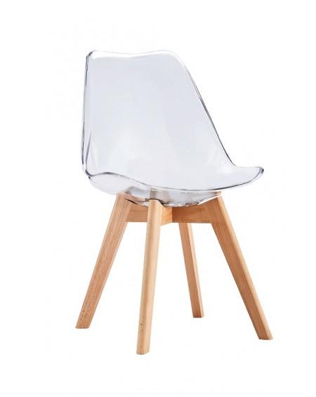 Krzesło Nord transparent