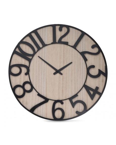 Zegar z metalową obręczą