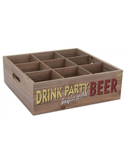 Skrzynka na butelki Beer