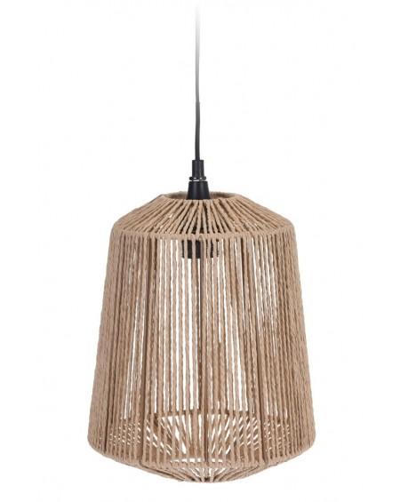 Lampa wisząca pleciony klosz 24x29 cm