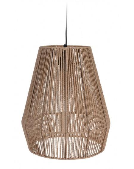 Lampa wisząca pleciony klosz 35x39 cm