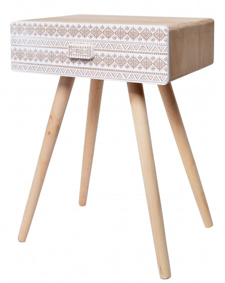 Stolik drewniany Boho
