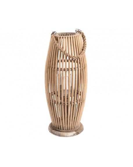 Lampion bambusowy wysoki