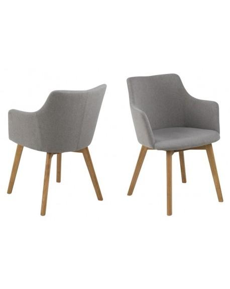 Krzesło Bella Light Grey