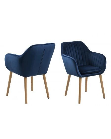 Krzesło Emilia velvet