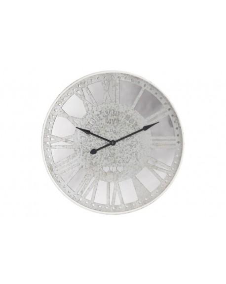 Zegar lustrzany Zinc