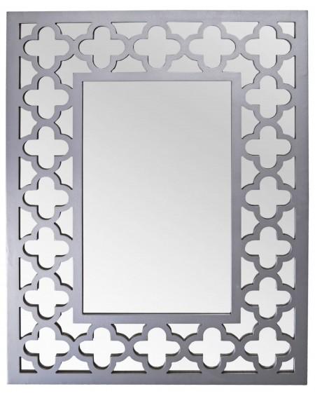 Lustro Moroccan szare