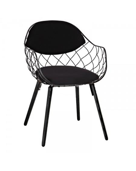 Krzesło Demy czarne