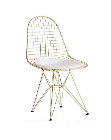 Krzesło Nest gold złote
