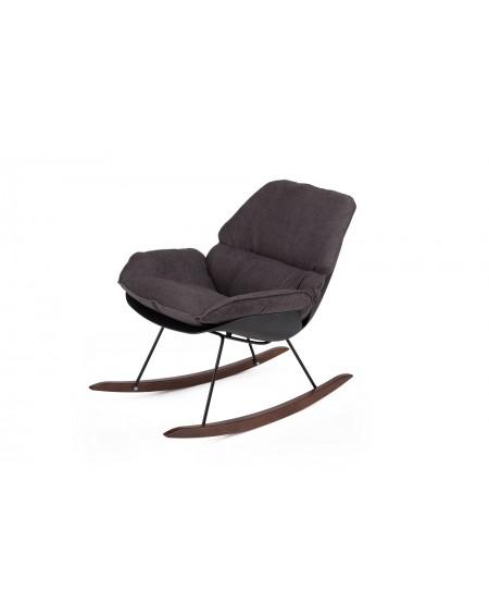Fotel bujany NINO BLACK