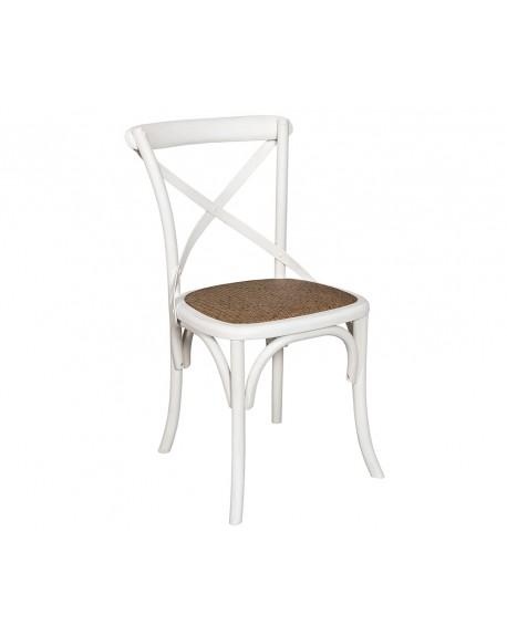 Krzesło Bari białe