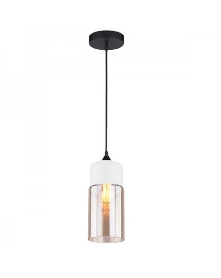 Lampa Manhattan Chic 4 White/Amber