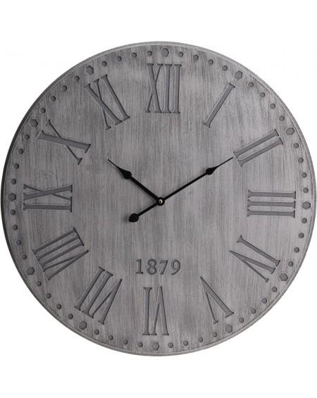 Zegar ścienny tłoczone cyfry