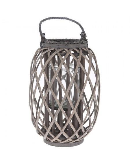 Lampion wiklinowy z uchwytem 40,5 cm