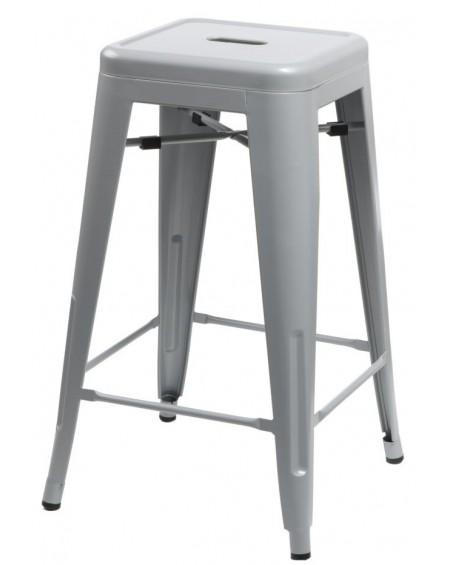 Stołek barowy Metalove grey