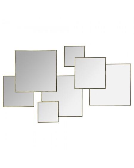 Lustro Squares lila-gold